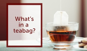 What's in a teabag?