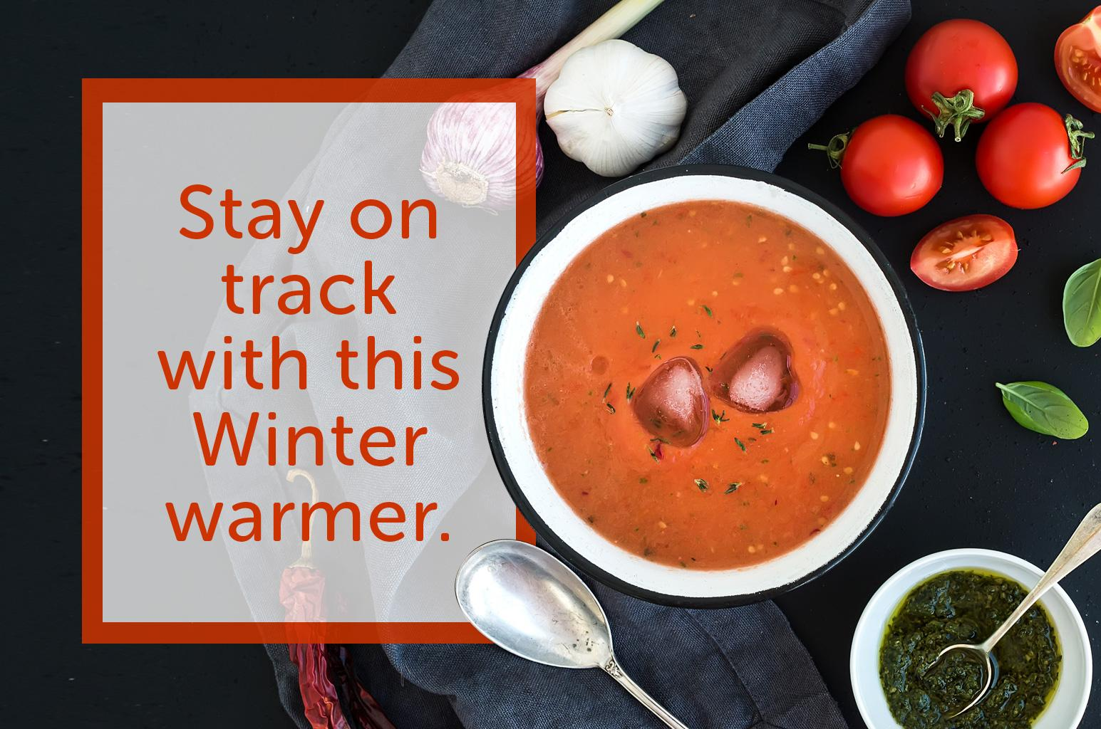 Stay on track with this Winter warmer