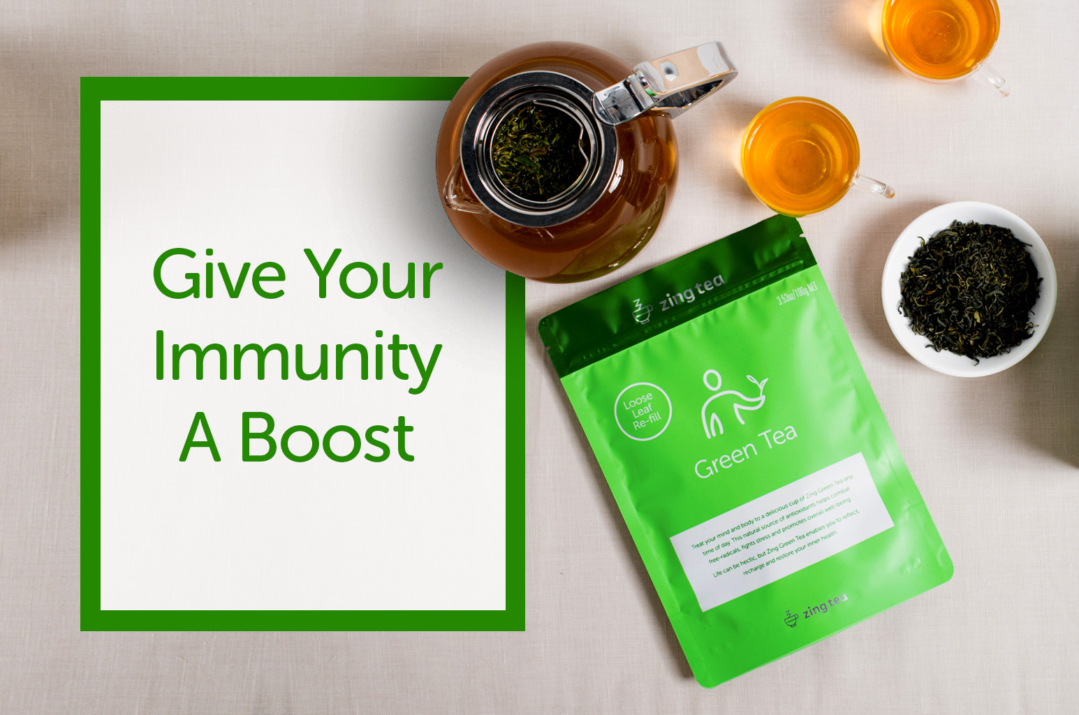 Give Your Immunity A Boost With Zing Tea